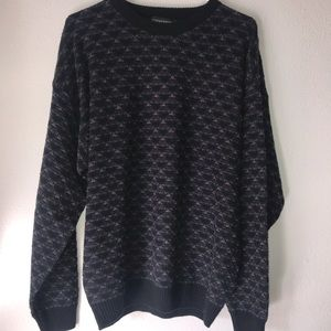 Jantzen sz XL navy sweater vintage but like new